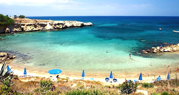 The 64 Blue flag beaches in Cyprus